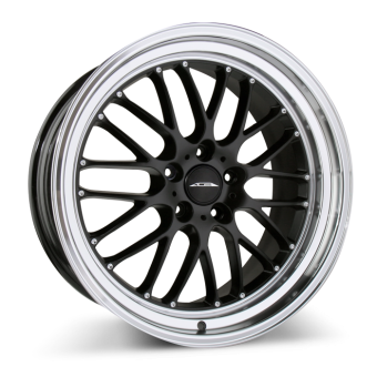 SL-M D715 Matte Black with Diamond Lip wheels & rims