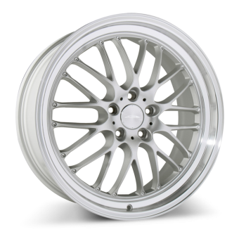SL-M D715 Matte Silver with Diamond Lip wheels & rims