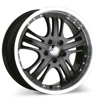 SPARK C808 Black with Machined Lip wheels & rims