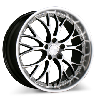 WEBB D682 Black Machined Face and Lip wheels & rims