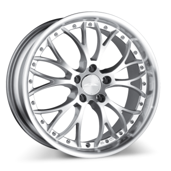 WEBB D682 Hypersilver with Machined Lip wheels & rims