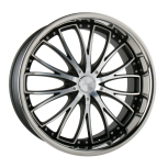 2012 Lincoln MKZ D709 custom wheel