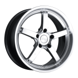 2012 Dodge Avenger D657 custom wheel