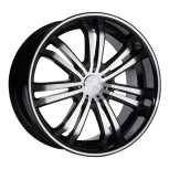 2010 Jeep Commander C892  custom rim