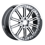 2011 Mercedes E Class D658 custom wheel