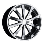 2012 Dodge Avenger C853 custom wheel