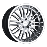 2012 Dodge Avenger D632 custom wheel