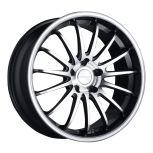 2012 Dodge Avenger D672 custom wheel