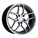 2012 Lincoln MKZ D659 custom wheel