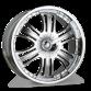 MACK C808B Chrome wheels & rims
