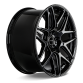 Mesh 7 D707 Gloss Black w/ Milled
