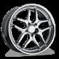 VERTEX D659 Chrome wheels & rims