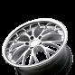 WEBB D682 Hypersilver with Stainless Steel Lip wheels & rims